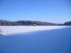 Schneelandschaft im Fichelgebirge (1)